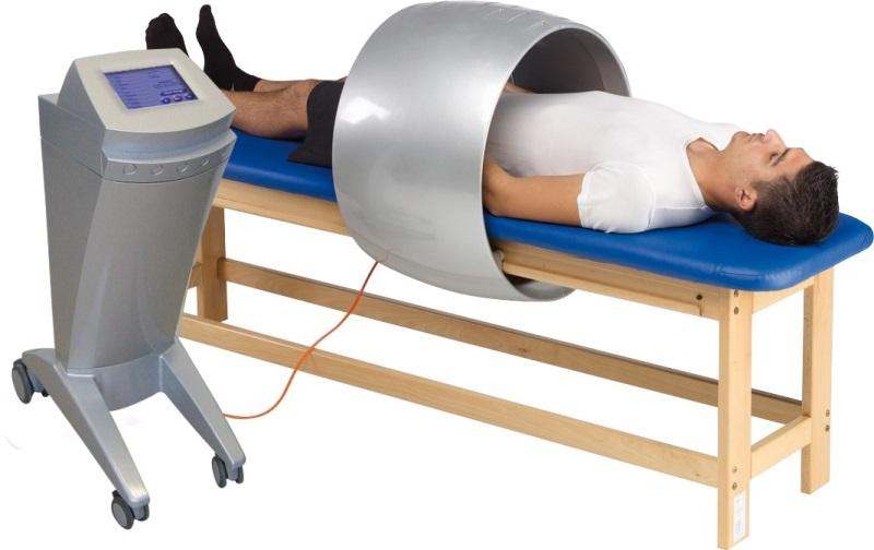 Lettino professionale per magnetoterapia