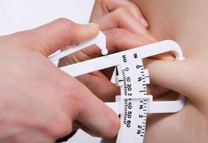 misurazione plica adiposa prima della cavitazione