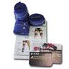 GLOBUS  Kit 8 fasce elastiche conduttive per cosce e gambe  Ricambi elettrostimolatori