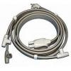 Connettore a 4 tubi per bracciale singolo, gambale singolo o fascia addominale