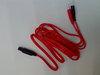 I-TECH  Cavo a spinotto rosso per T-One  Ricambi elettrostimolatori