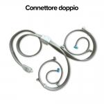 Connettore doppio